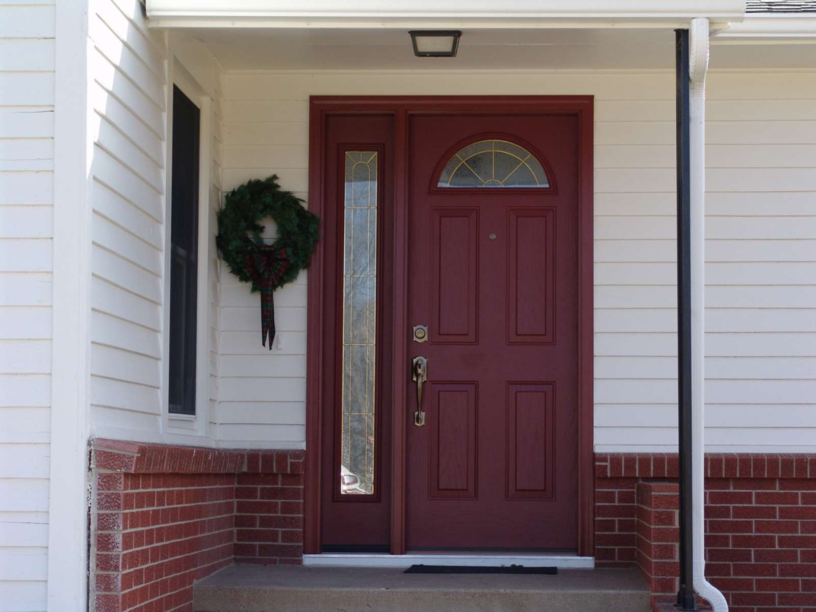 Heritage fiberglass entry doors doors entry doors for Fiberglass entrance doors