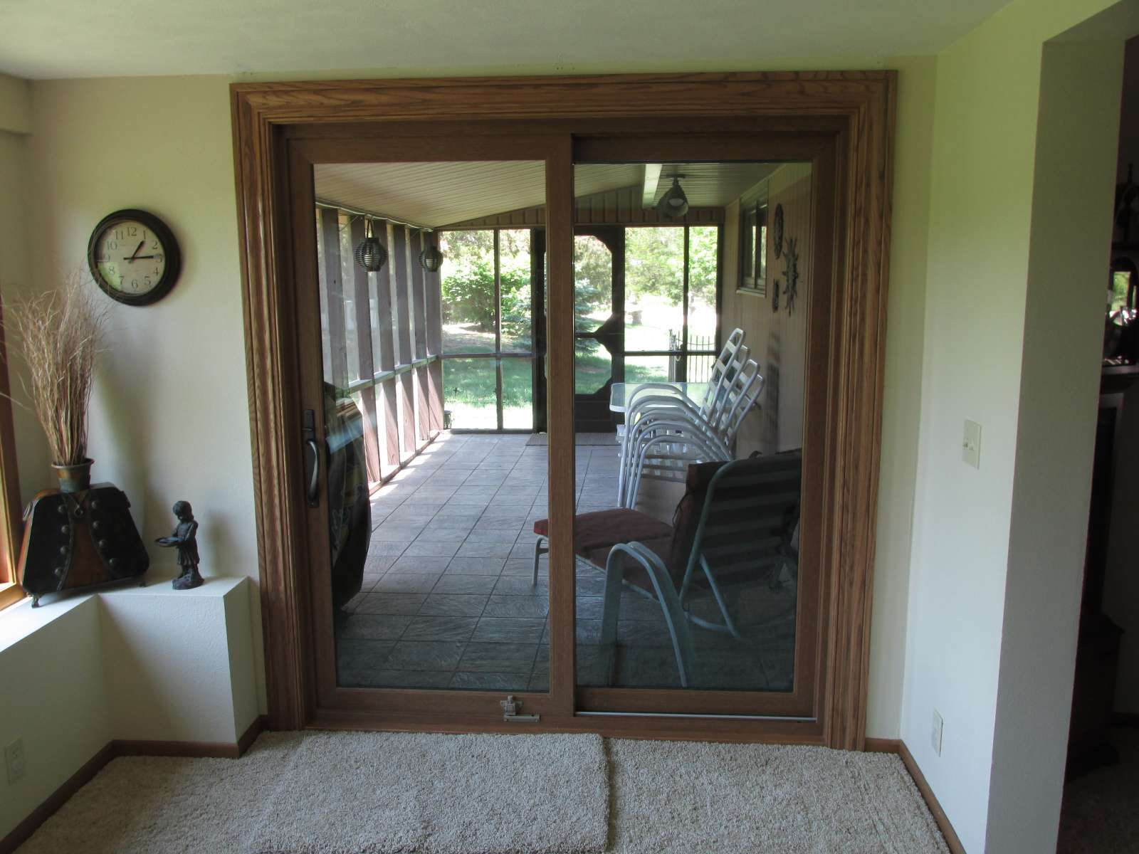 Custom size patio doors replacement sliding patio doors for Custom patio doors