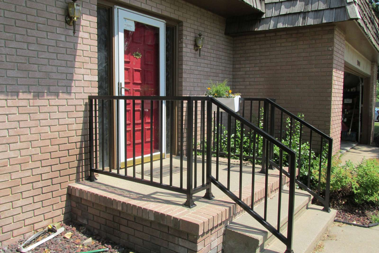 Fiberglass Entry Doors With Wrought Iron
