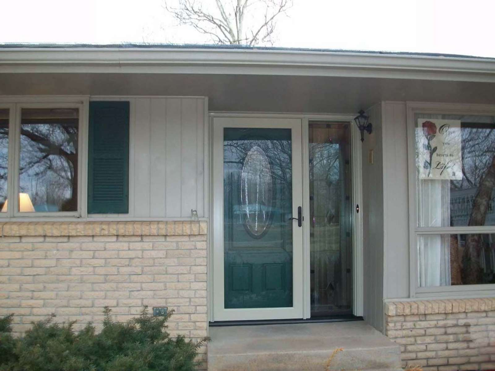 Provia Storm Doors Doors Storm Doors Products Pleasantview