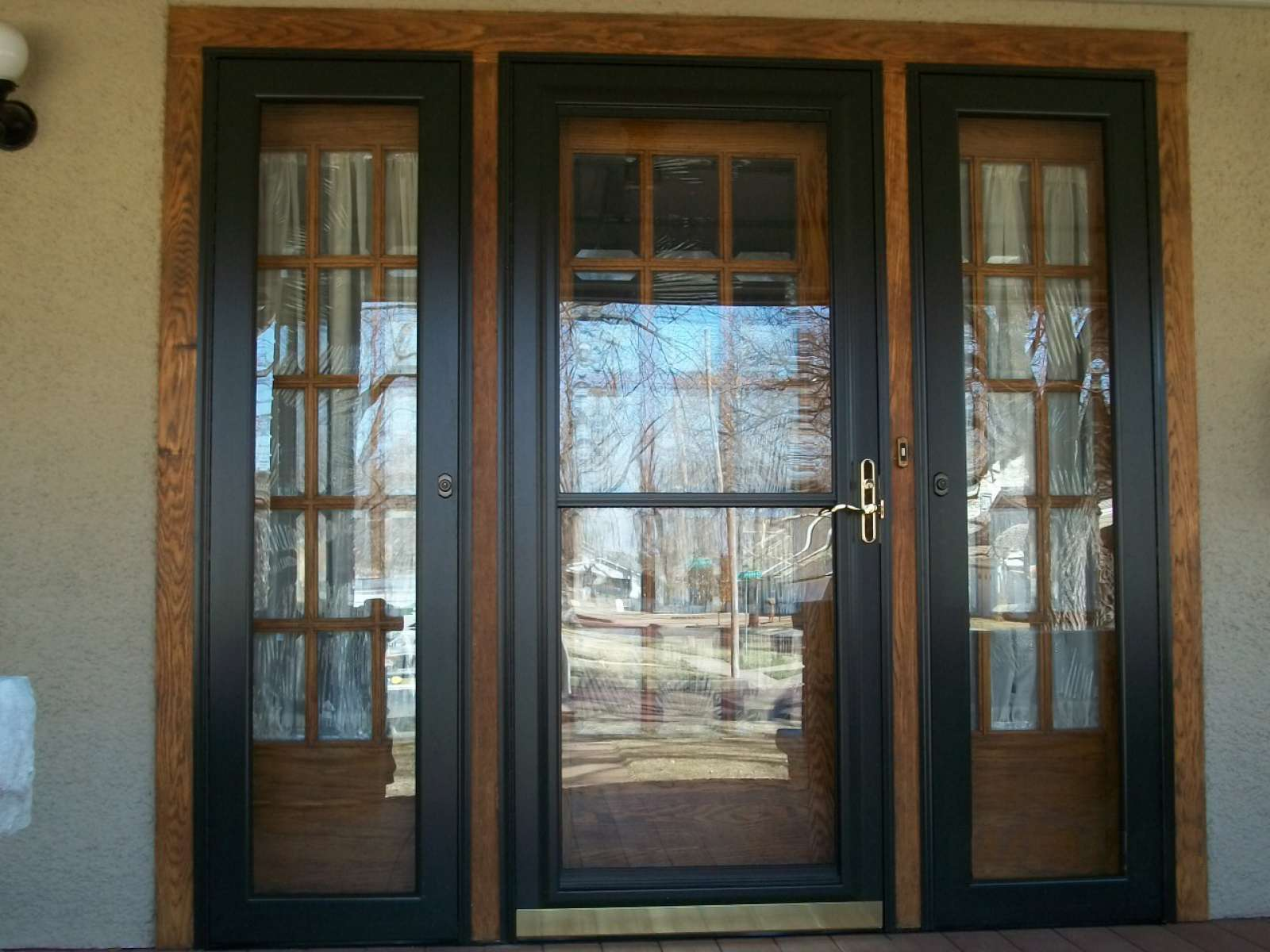 Provia storm doors doors storm doors products for Entry door with storm door